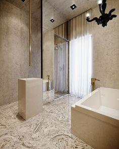 Mármore no banheiro! ▪ Follow us ▪ Siga-nos - - - #architecture #mármore #arquiteturadeinteriores #architectureandinteriors #arquitetura #designideas #decor #decoração #designdeinteriores #homeinspiration #marblefloor #luxuryarchitecture #luxuryhouse #banheiro #banheirodecorado #banheiros #bathroomdecor #archlovers #bathroomdesign #bathroom #decorinspiration #decorideas #marblebathroom