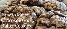 How to Make Chocolate Gooey Butter Cookies
