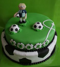 Happy Birthday Kids, Boy Birthday Parties, Cakes For Boys, Boy Cakes, Celebration Cakes, Creative Food, Football, Party Planning, Soccer Cakes