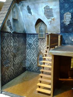 My haunted dollhouse project by Miss Crumplebottom
