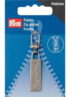 Prym Zip Puller | Handmade Collection | Silver | Empress Mills