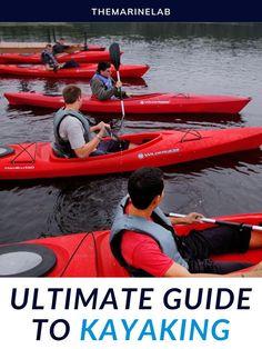 Kayaking is a water sport that has kicked off over the last few years. So did the kayaking equipment industry. #kayakingadventures #kayakingfun #kayakingtrip #kayakingislove Kayak Roof Rack, Kayak Cart, Kayak For Beginners, Kayak Equipment, Kayak Seats, Kayaking Tips, Kayak Paddle, Camping And Hiking, Tandem