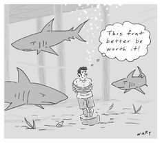 A cartoon from this week's issue by Kim Warp. For more cartoons from the magazine: http://nyr.kr/YN4NIl