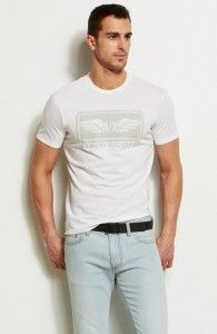 Camiseta Armani Exchange Branca AX1402