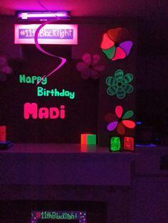 Blacklight Birthday Party