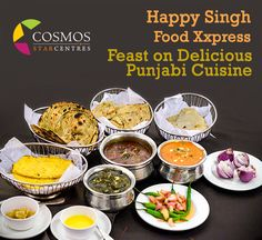 Punjabi food cravings? Head to Cosmos mall for a delicious Punjabi fare! #Cosmosmall #HappySinghFoodXxpress