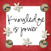 Knowledge is power blog