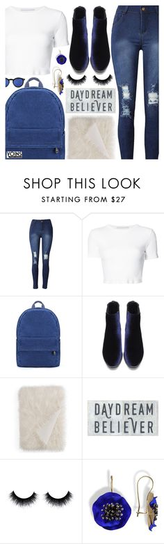 """""""Yoins"""" by pastelneon ❤ liked on Polyvore featuring Rosetta Getty, Hudson Park, Sugarboo Designs and Spitfire"""