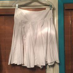 Zara White Skirt Zara White Mermaid Fit Skirt purchased in Europe Zara Skirts