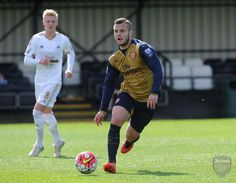 Jack Wilshere completed the full 90 minutes of play with the Arsenal Jack Wilshere, European Football, Arsenal, Soccer, Play, Running, Sports, Hs Sports, Football