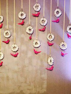 Ideas For Wedding Diy Backdrop Parties Decorations – Diy Wedding 2020 Desi Wedding Decor, Diy Wedding Backdrop, Wedding Stage Decorations, Diy Backdrop, Backdrop Decorations, Background Decoration, Backdrop Design, Flower Backdrop, Garland Wedding