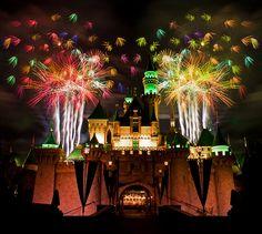 ♥ Fireworks | Disneyland