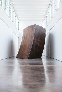 Richard Serra at Dia Art Foudation (via Cereal Mag)