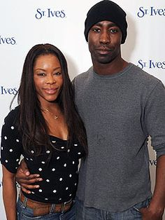 Golden Brooks and D.B. Woodside