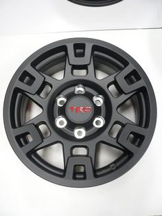 I'd like these a lot better if the TRD was black Toyota Tacoma Sport, Toyota 4runner Trd, Toyota 4x4, Toyota Trucks, Buy Toyota, Tacoma Wheels, Tacoma Truck, 4runner Accessories, Truck Accessories