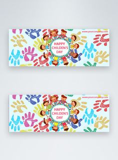 cartoon happy children day sale facebook cover happy children's day,children's day,facebook banner,facebook cover,cartoon children, social media, hand-drawn, colorful#Lovepik#template