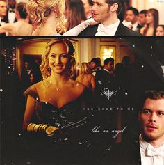 Is it sooo bad that I want Klaus to be good and want the two of them to be together?  Nope, not at all... love them both