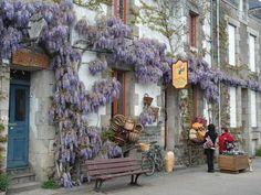 Rochefort-en-Terre, Vannes, Morbihan, Bretagne, France