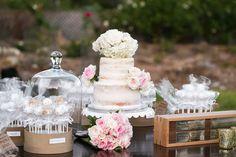 pure lavish wedding | naked cake | cake pops | dessert bar | blush wedding | pink wedding | | gray and pink wedding | wedding photography  | alyssa marie