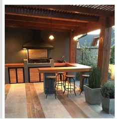Outdoor Tables, Outdoor Decor, Outdoor Furniture, United Nations, House, Home Decor, Sofa Chester, Barbecue Pit, Gourmet