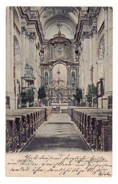 Kostel sv.Ignáce - 1905 Taj Mahal, Building, Travel, Viajes, Buildings, Destinations, Traveling, Trips, Construction