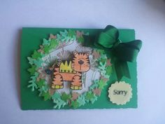 Childs sorry card
