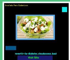 Ensalada Para Diabeticos 184734 - Aprenda como vencer la diabetes y recuperar su salud.