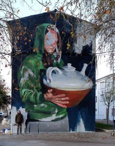 Murals Street Art, Mural Art, Wall Art, Stencil Graffiti, Street Installation, Street Gallery, City Streets, Street Artists, Banksy