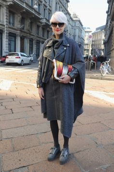 Street Style Day 2 - Milan Fashion Week Menswear Autumn/Winter 2014 - Pictures - Zimbio