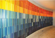 Contemporary Glass Wall – Bloomfield Hills