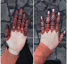 Finger details Which is your fav - 1 or Henna Artist: Finger Henna Designs, Mehndi Designs For Beginners, Modern Mehndi Designs, Mehndi Designs For Fingers, Latest Mehndi Designs, Henna Tattoo Designs, Khafif Mehndi Design, Mehndi Design Pictures, Beautiful Mehndi Design