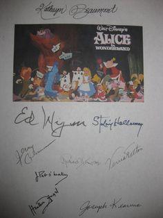 Alice In Wonderland Sign, Kathryn Beaumont, Movie Screenplay, Ed Wynn, Heather Angel, Leonardo Dicaprio Kate Winslet, Film Script, Disney Up, Moose