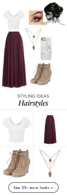 """Untitled #443"" by lacrossequeen on Polyvore featuring Halston Heritage and Uncommon"