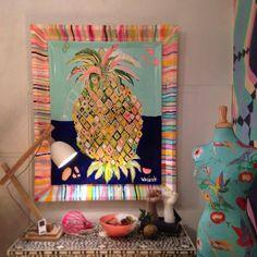 Pineapple art by Jai Vasicek