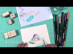 Ai Watercolor Mini Project - Cottage by the Beach - YouTube