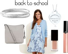 """Simple Back to School Outfit"" by makeupobsessedmom on Polyvore"