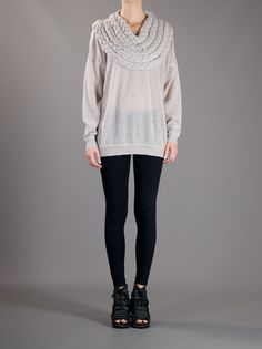 Women - Clothing - Stine Ladefoged Braided Neck Sweater - Henrik Vibskov boutique - Online Store