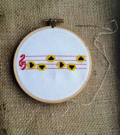 Sun's Song - Zelda: Ocarina of Time - Cross Stitch Pattern (from East Empire Trading Company)