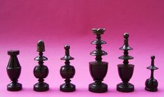Wittitschek's Schachfiguren / Chess set