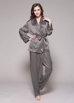22 Momme Contrast Trim Silk Pyjamas Set. Silk PajamasPyjamasMulberry ... 89248fb33