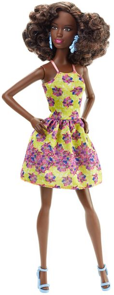 Barbie® Fashionistas® Doll - Fancy in Flowers, 2016 collection