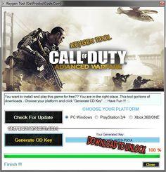 COD Advanced Warfare Steam Keygen
