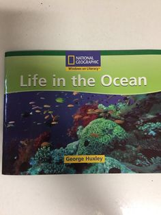 A used copy of a National Geographic Windows on Literacy Science Set B. Written by George Huxley. Reading Tracker, National Geographic, Nonfiction, Literacy, Ocean, Science, Writing, Life, Books