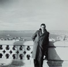1950's Photo - Man on the Notre Dame de la Garde, Marseille by ChicEtChoc on Etsy
