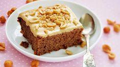 Kinuskiset mokkapalat - Yhteishyvä Finnish Recipes, Sweet Bakery, Cake Bars, Sweet Pie, Sweet And Spicy, Something Sweet, No Bake Desserts, No Bake Cake, Sweet Recipes