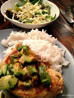 {Avocado Lime Chicken}