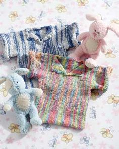 Stretchy Free Baby Sweater Knitting Pattern | FaveCrafts.com