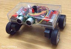 Picture of Arduino, Mini Sonar Robot