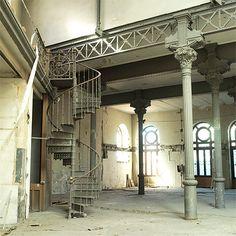 Planta baja del palacete donde se celebrará Casa Decor 2012 en Madrid.