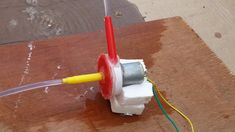 How to Make a Homemade Water Pump. This is the first ever working water pump I made from scrap materials. The pump can be disas. Diy Water Pump, Hand Pump Well, Make 3d Printer, Electric Water Pump, Rain Barrel, Diy Garage, Water Conservation, Irrigation, Pumps
